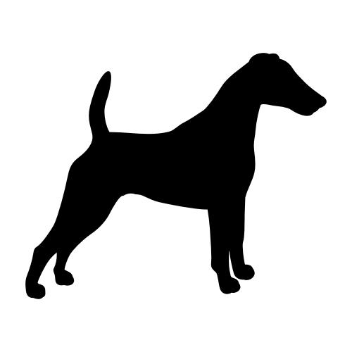 Fox Terrier Wandtattoos