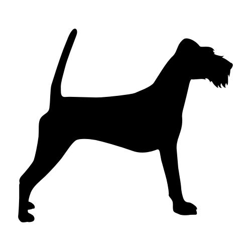 Irish Terrier Wandtattoos
