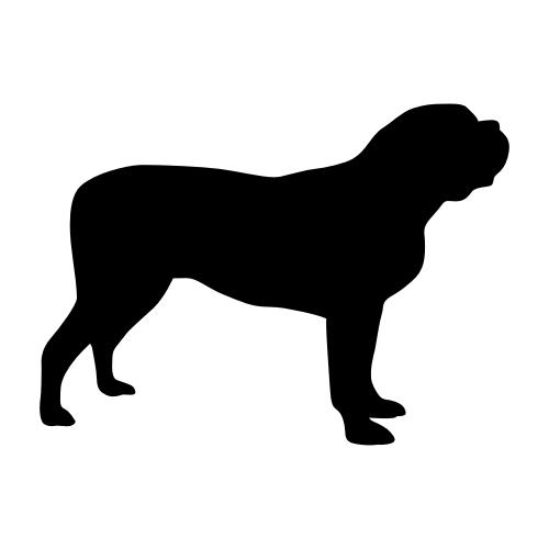 Mastiff Aufkleber