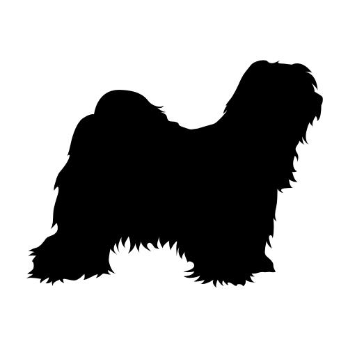 Tibet Terrier Aufkleber
