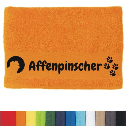 """DOG  - Handtuch """"Affenpinscher"""""""