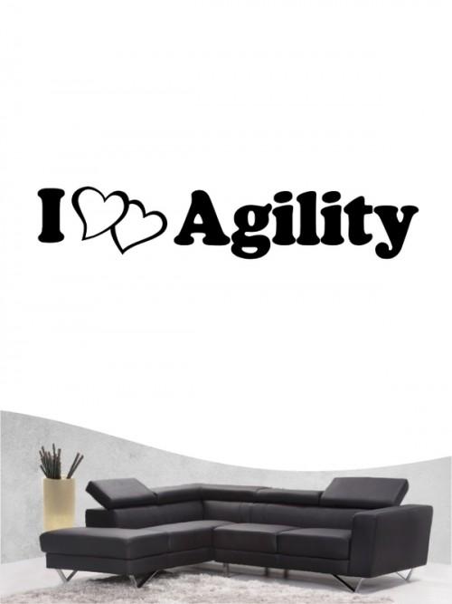 Agility 2 - Wandtattoo
