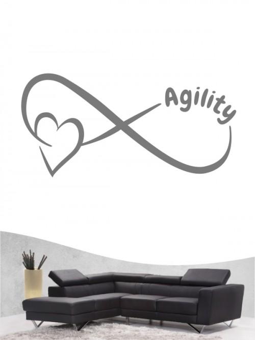 Agility 40 - Wandtattoo