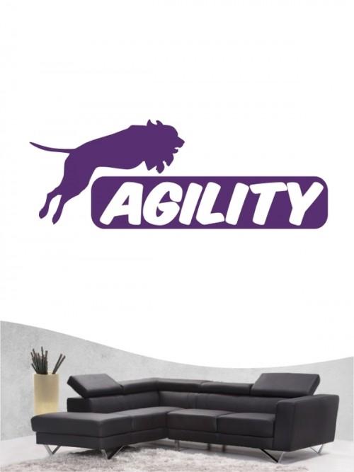 Agility 4 - Wandtattoo
