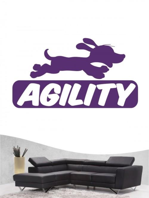 Agility 6 - Wandtattoo