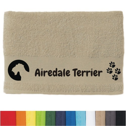"""DOG  - Handtuch """"Airedale Terrier"""""""