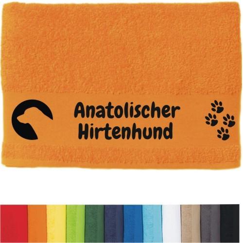 """DOG - Handtuch """"Anatolischer Hirtenhund"""" von anfalas.de"""