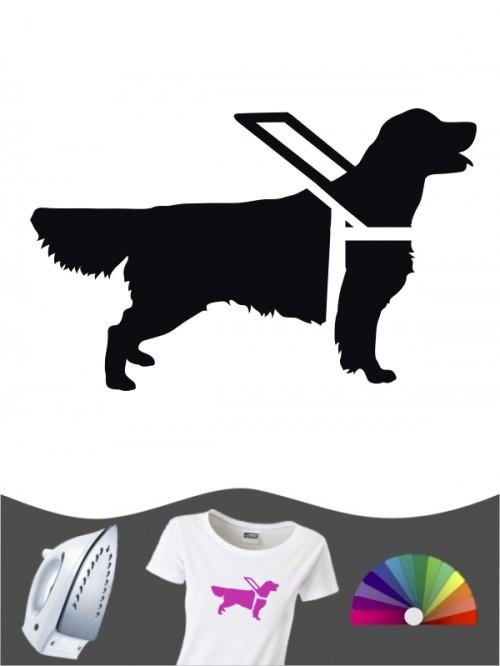 Hunde-Bügelbild Assistenzhund 2 von Anfalas.de