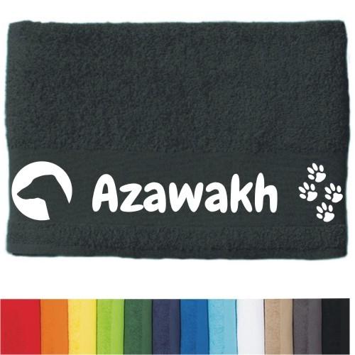 """DOG - Handtuch """"Azawakh"""" von anfalas.de"""