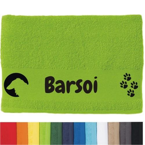 """DOG - Handtuch """"Barsoi"""" von anfalas.de"""