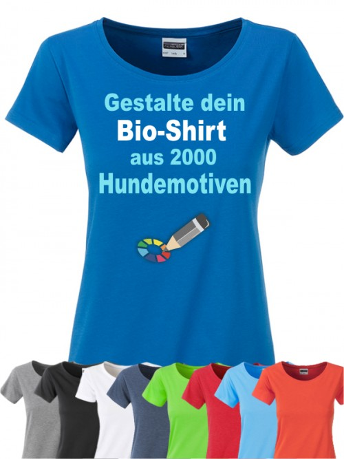 Damen Bio-Shirt für Hundefreunde