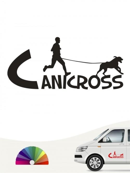 Canicross Aufkleber von anfalas.de