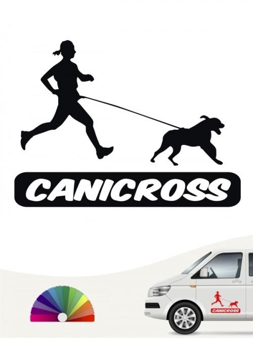 Canicross Autosticker von anfalas.de
