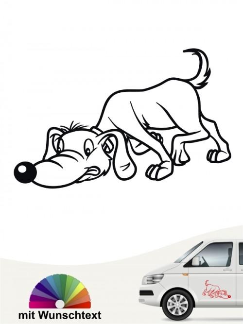 Comic Suchhund von anfalas.de