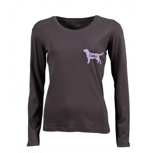 Damen Langarm-Shirt mit Wunschmotiv von anfalas