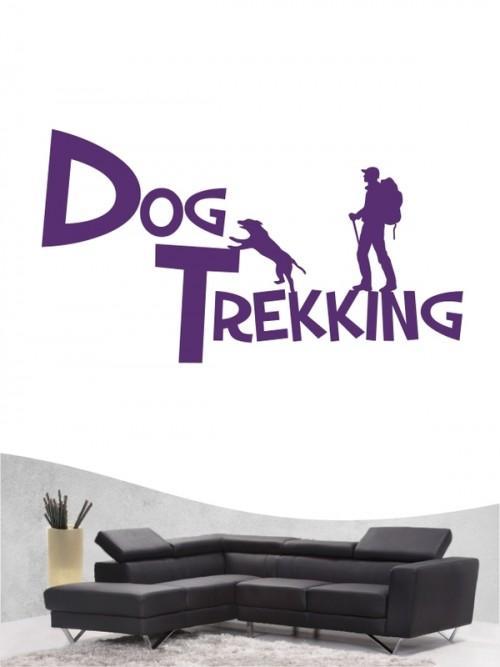 Hunde-Wandtattoo Dogtrekking 20 von Anfalas.de