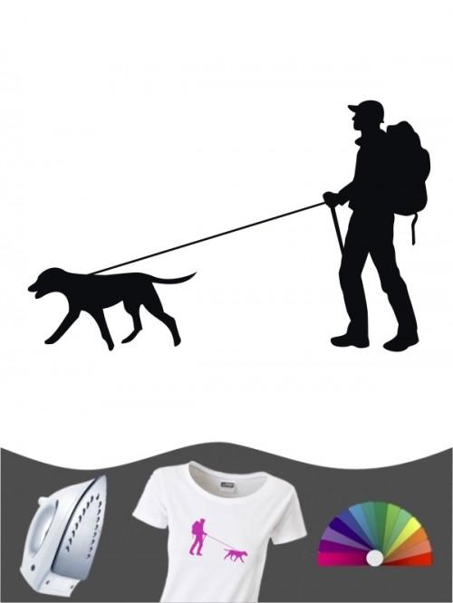 Hunde-Bügelbild Dogtrekking 1 von Anfalas.de