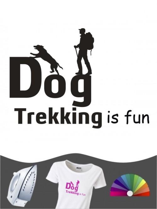 Hunde-Bügelbild Dogtrekking 4 von Anfalas.de