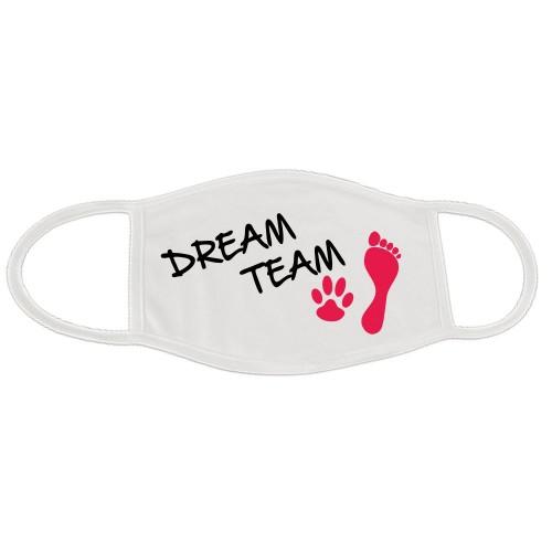 Behelfsmaske Dreamteam waschbar