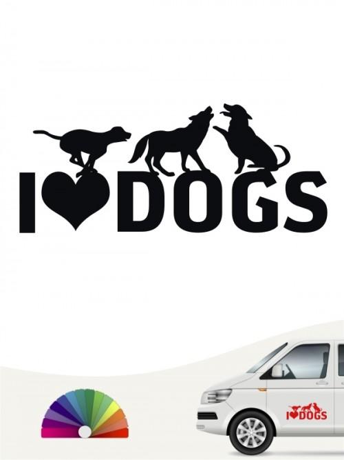 Hundeaufkleber Beste Freunde Motiv von anfalas.de