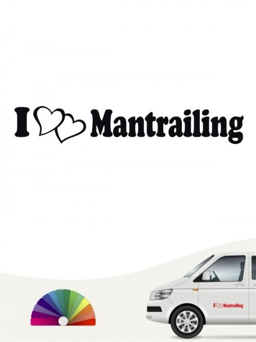 I love Mantrailing Sticker von anfalas.de