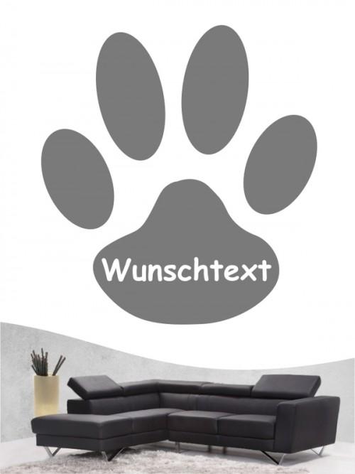 Pfoten 14a Hunde-Wandtattoo von Anfalas.de