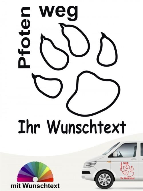 Hunde-Autoaufkleber 7 von Anfalas.de