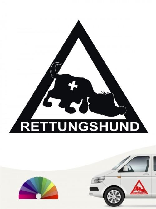 Rettungshunde Sticker lustig anfalas.de
