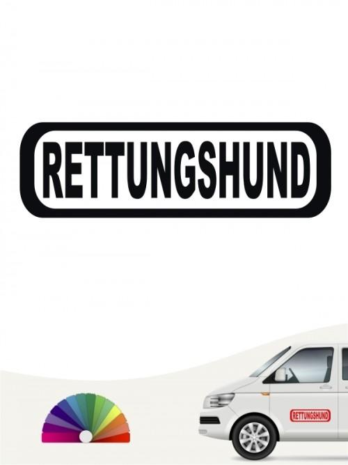 Hunde-Autoaufkleber Rettungshundearbeit 8 von Anfalas.de
