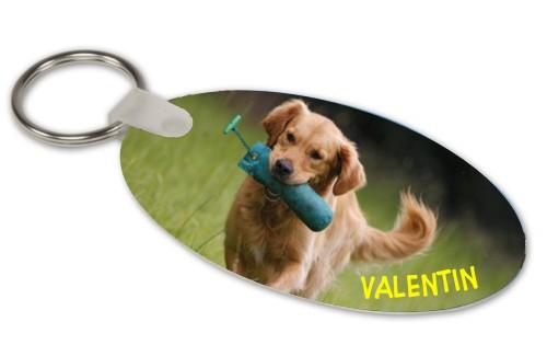 Anfalas.de | Schlüsselanhänger mit Foto vom eigenen Hund