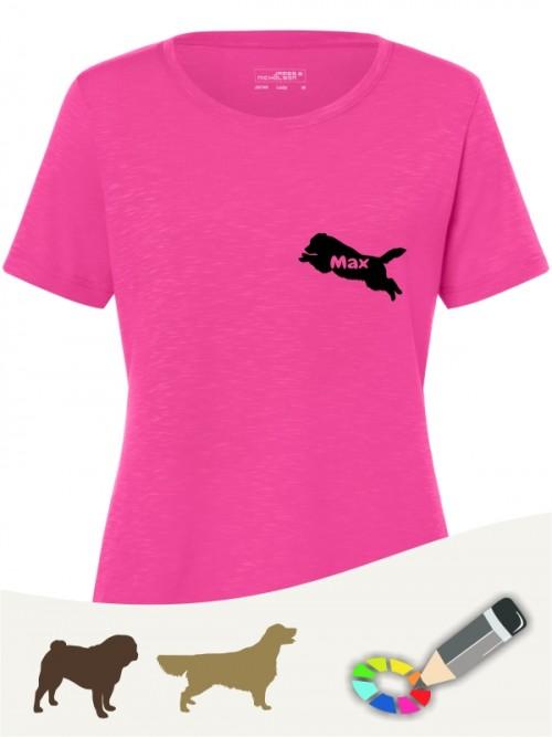 Sport & Freizeit T-Shirt Hundeleute