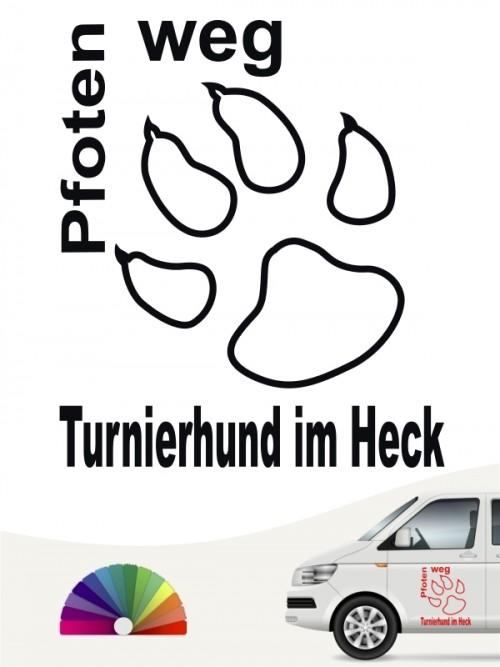 Turnierhundesport 4 - Aufkleber