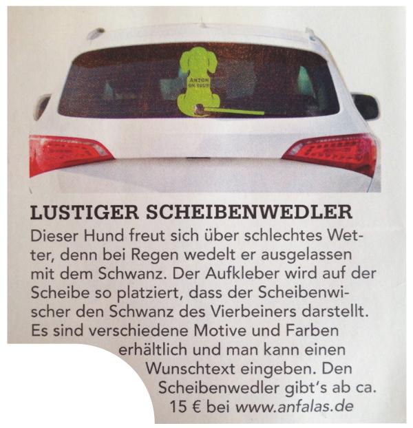 DOGStoday berichtet ueber anfalas.de
